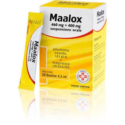 Maalox - MAALOX*OS 20BUST 460MG+400MG