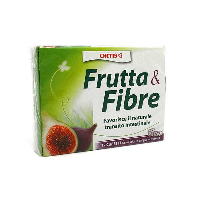 Frutta E Fibre - Integratori per il benessere dell'intestino in Cubetti da masticare