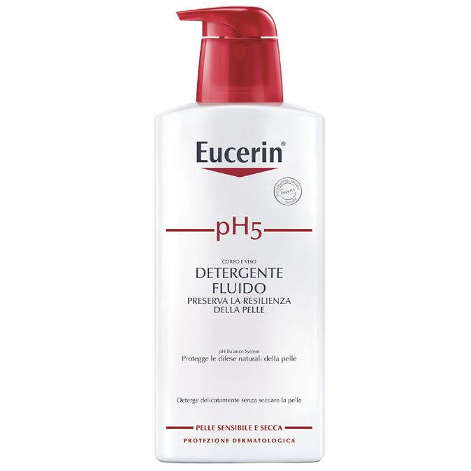 Eucerin - Detergente pH 5 Fluido - 400 ml.