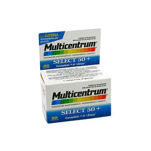 Multicentrum - Integratore Alimentare - Select 50+ - 30 compresse