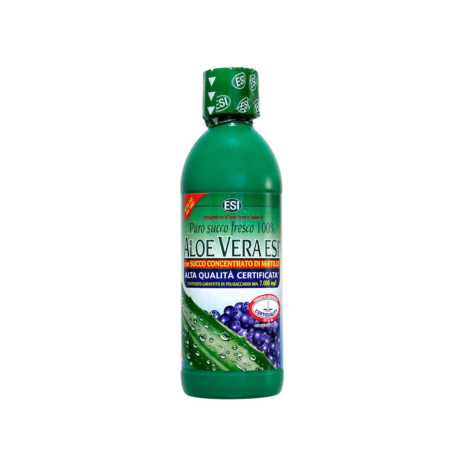 Esi - Aloe Vera - con Succo di Mirtillo