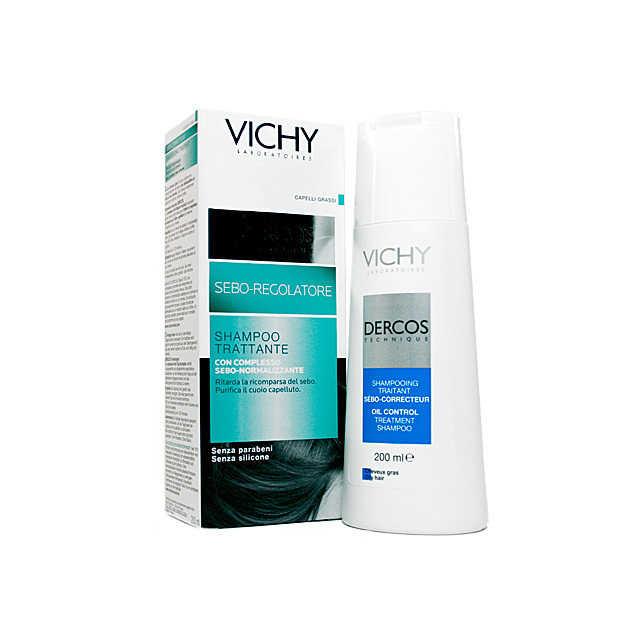 Vichy - Dercos - Shampoo Trattante Sebo-regolatore