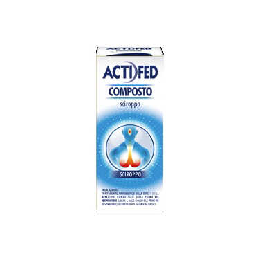 Actifed - ACTIFED COMPOSTO*SCIR 100ML