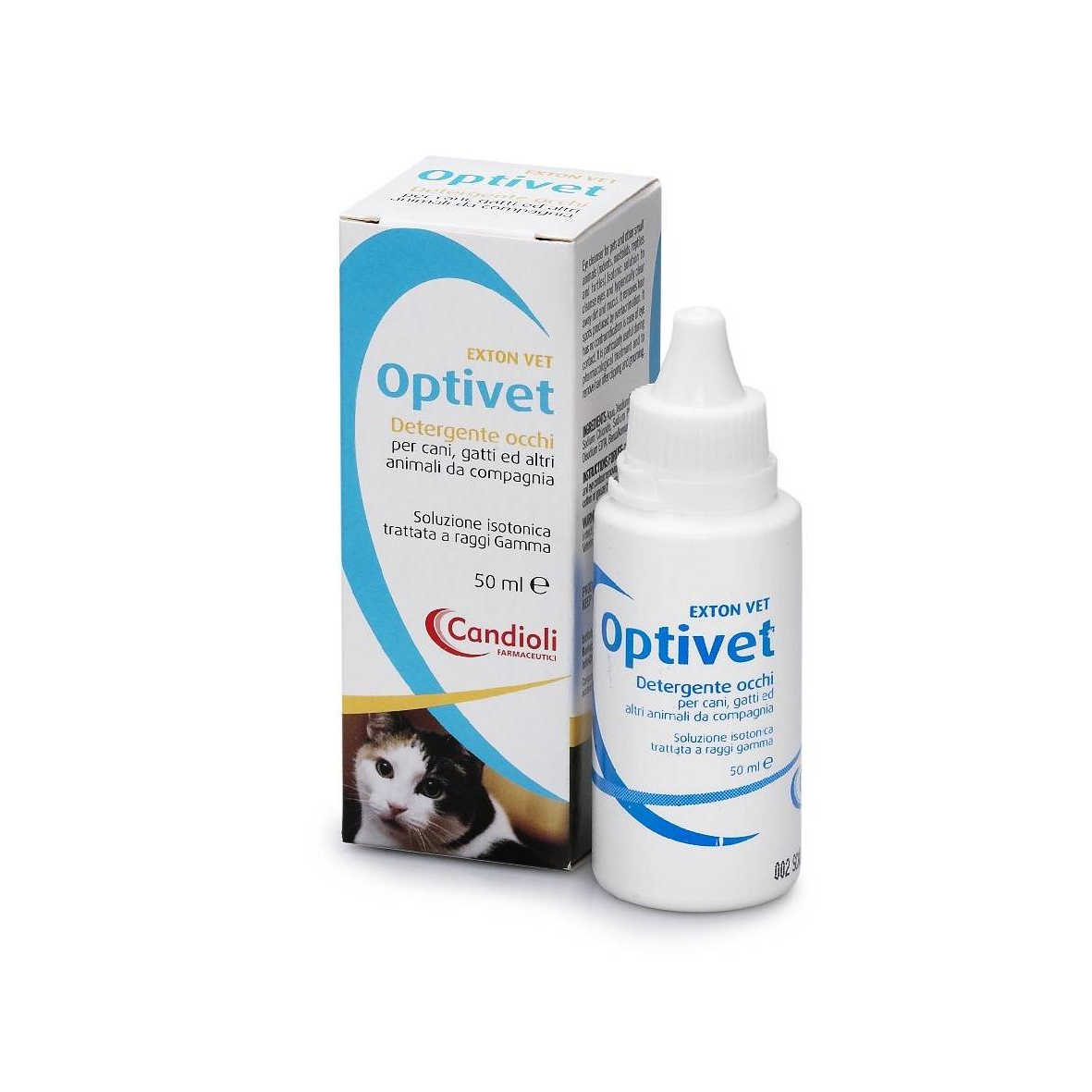 Candioli - Collirio Detergente Occhi - Optivet
