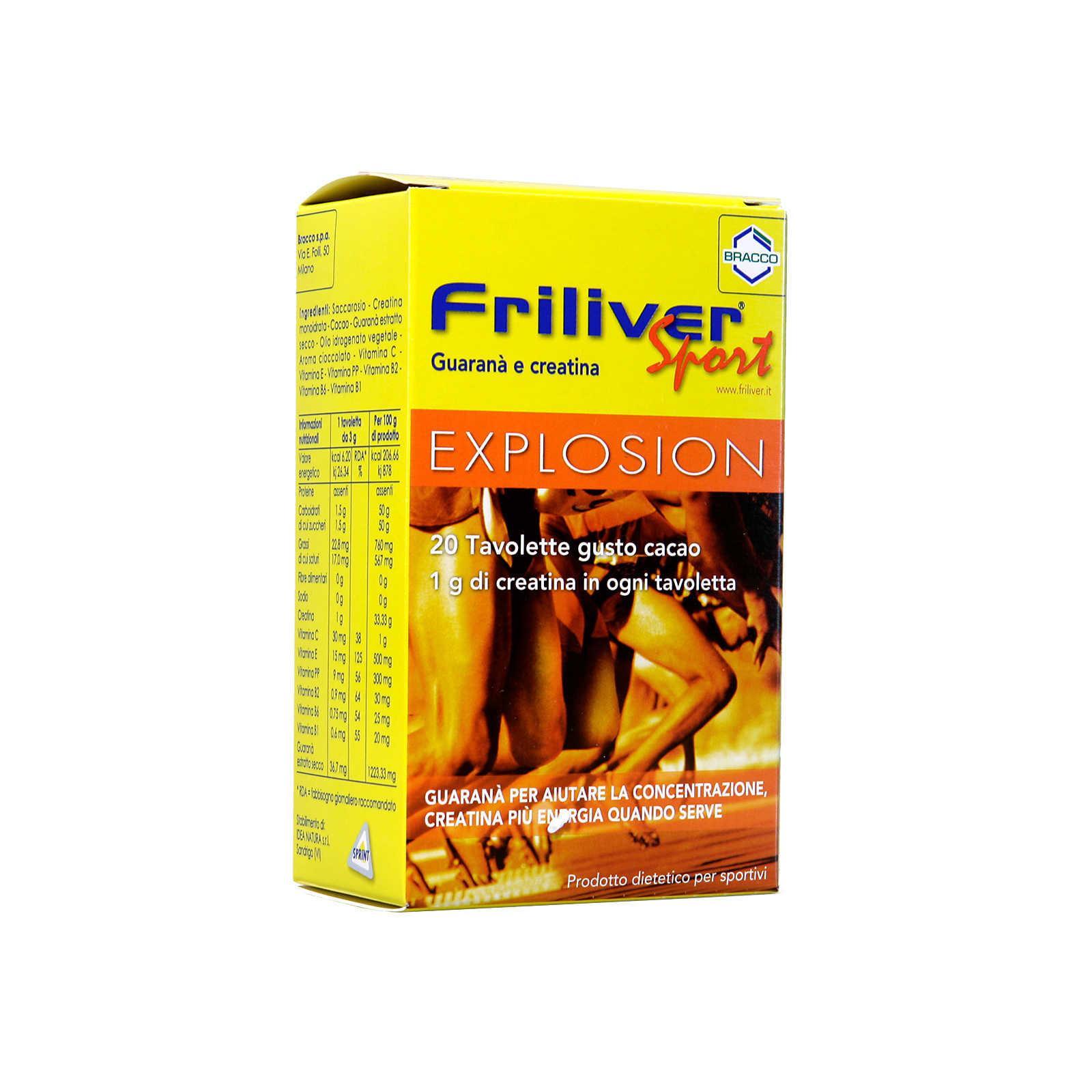 Friliver - Integratore Sprtivo - Energy - Creatina e Guaranà