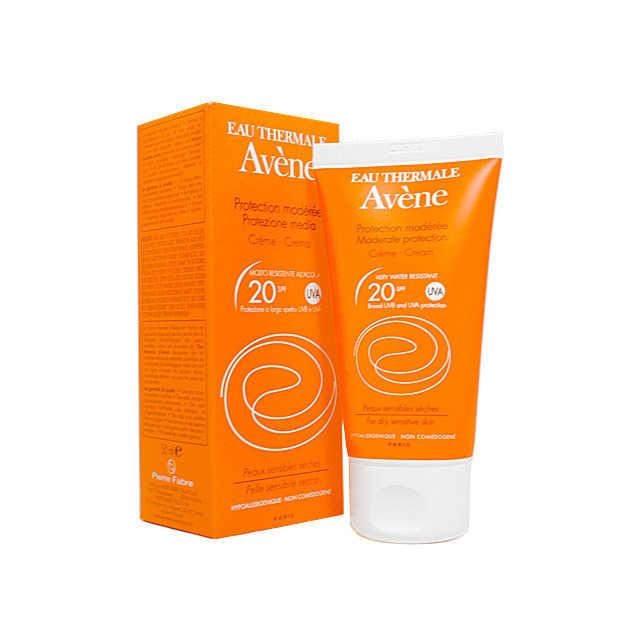 Avene - Crema Protezione Moderata - SPF 20