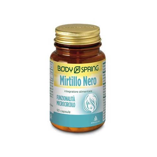 Body Spring - Integratore alimentare per la concentrazione - Mirtillo Nero