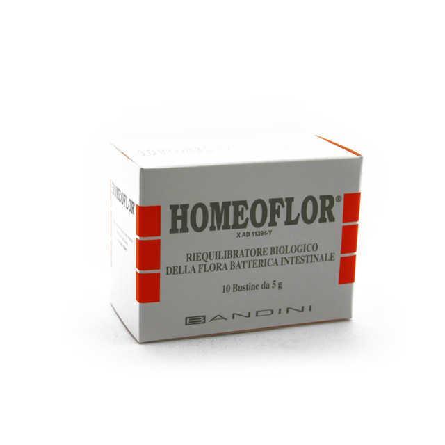 Homeoflor - Riequilibratore della flora batterica intestinale in Bustine