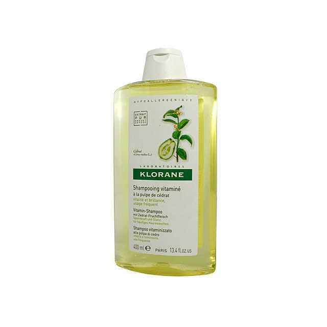 Klorane - Shampoo Vitalità e Luminosità- Polpa di Cedro