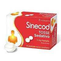 Sinecod - SINECOD TOSSE SED*18PAST 5MG