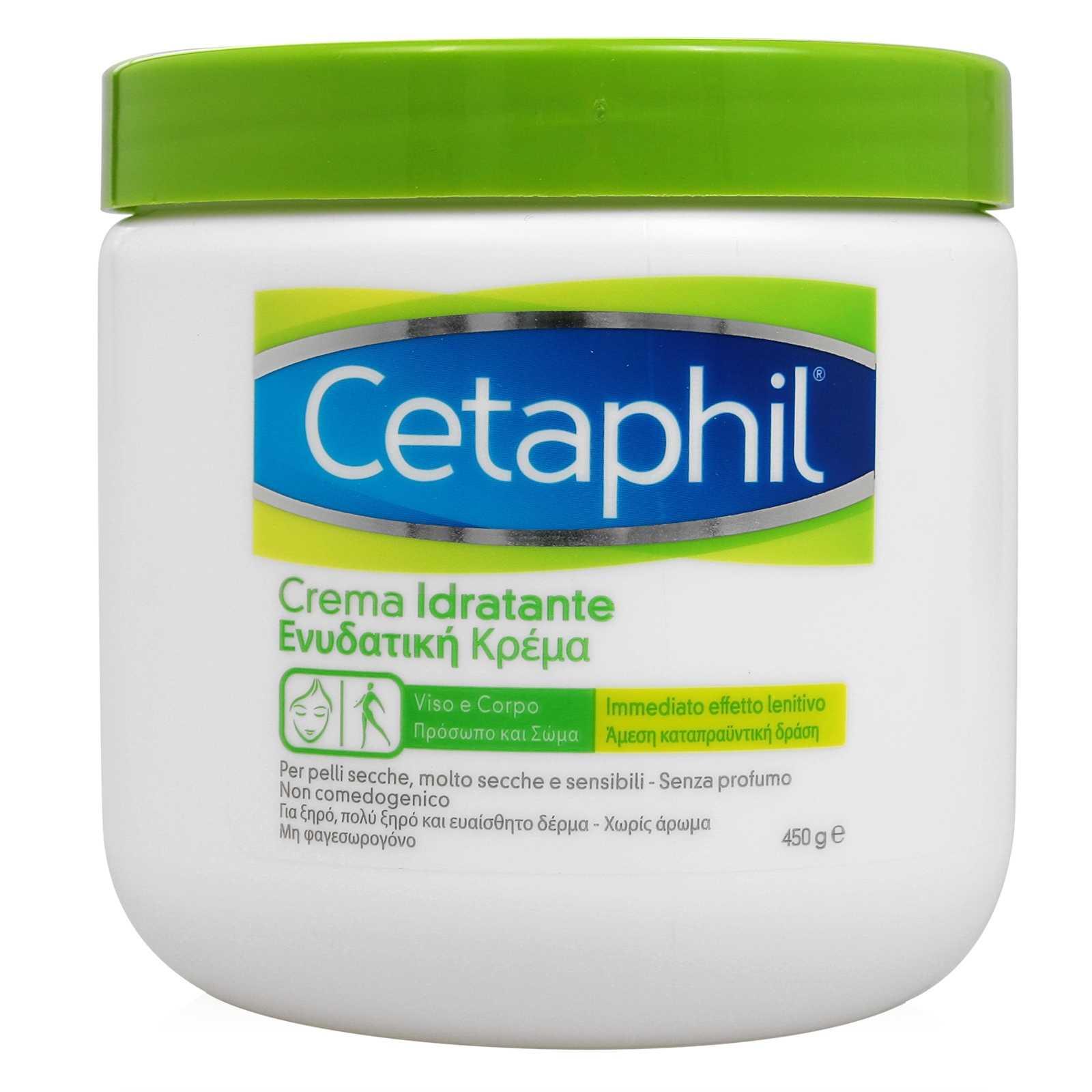 Cetafil - Crema Idratante - Vaso 450g