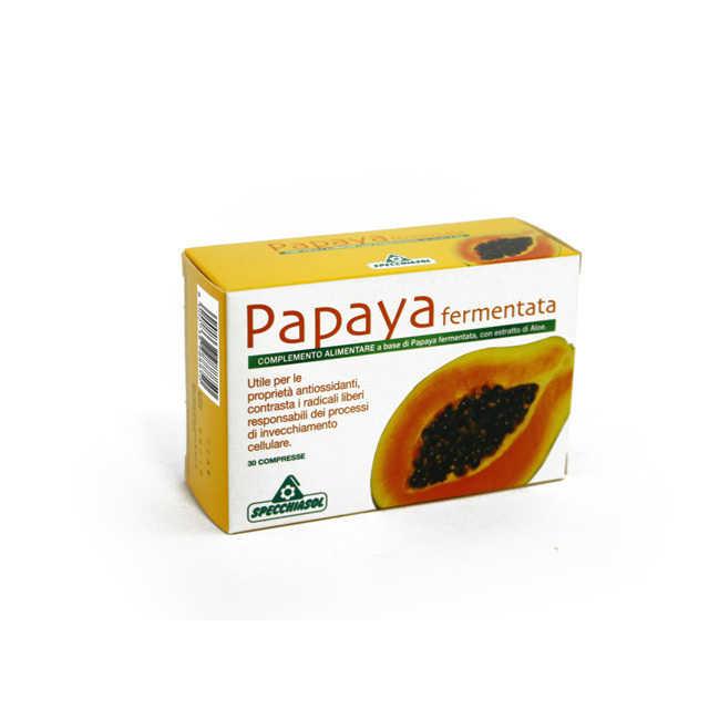 Specchiasol - Integratore Antiossidante alla Papaya Fermentata in Compresse