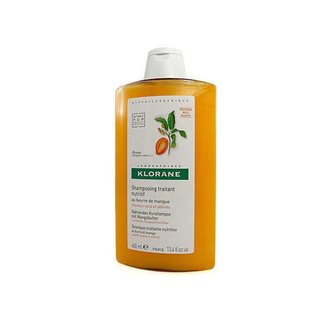 Klorane - Shampoo Trattante Nutritivo - Burro di Mango