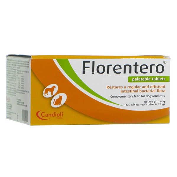 Candioli - Mangime complementare per cani - Florentero - 120 Compresse