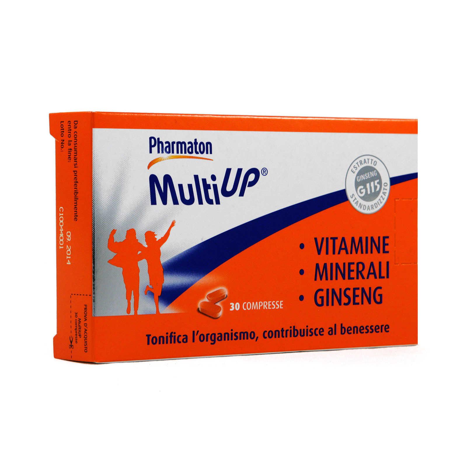 Pharmaton - Integratore Alimentare per il benessere fisico - Multiup