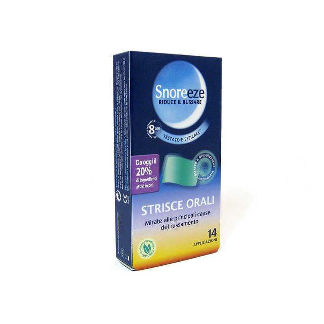 Snoreeze - Strisce Orali