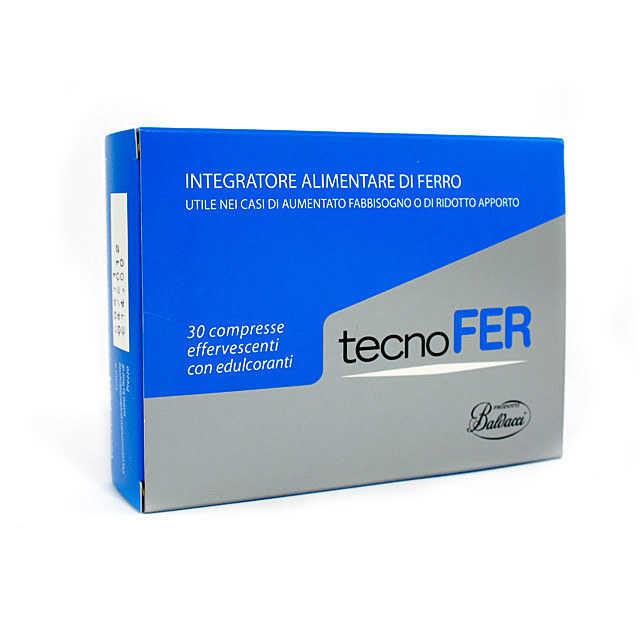 Tecnofer - Integratore Alimentare - Compresse Effervescenti