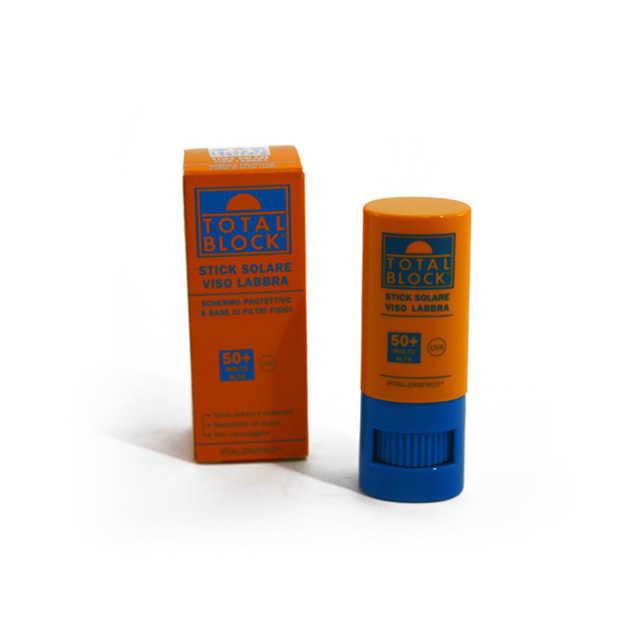 Total Block - Stick Protezione Solare Viso Labbra