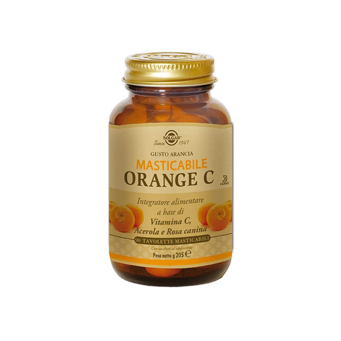 Solgar - Orange C Masticabile