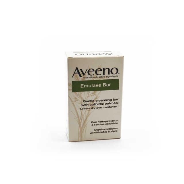 Aveeno - Crema corpo idratante e detergente Emulave Bar