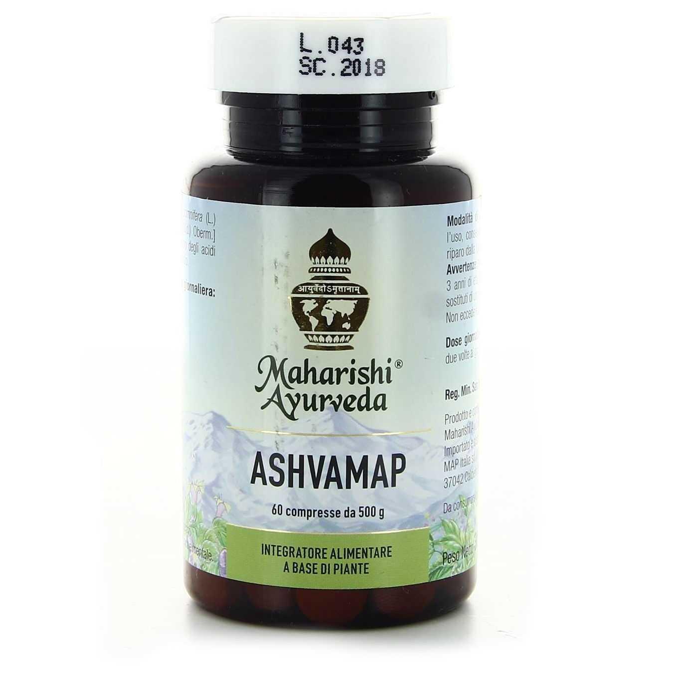 Maharishi Ayurveda - Ashvamap - 60 compresse