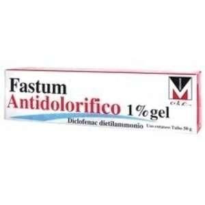 Fastum - FASTUM ANTIDOLOR*GEL 50G 1%