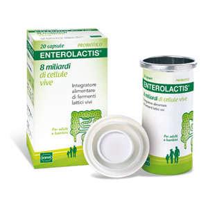 Enterolactis - Integratore biologico di fermenti lattici vivi in Capsule