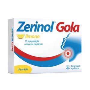 Zerinol - ZERINOL GOLA LIMO*18PAST 20MG
