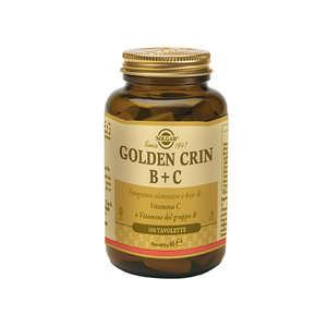 Solgar - Integratore Alimentare contro la perdita dei capelli - Golden Crin B+C