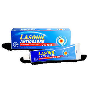 Lasonil - LASONIL ANTIDOLORE*GEL 50G 10%