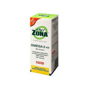 Enerzona - Omega3 Rx - 120 Capsule - Integratore Alimentare