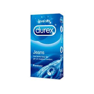 Durex - Jeans - 6 profilattici
