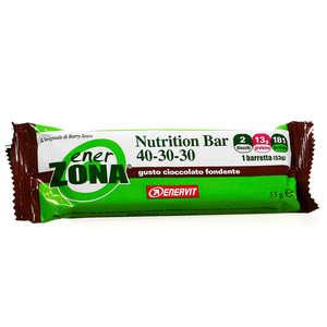 Enerzona - Nutrition Bar - Cioccolato Fondente - 2 blocchi
