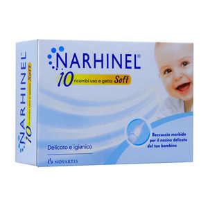 Narhinel - 10 ricambi usa e getta.