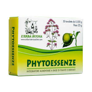 L'erba Buona - Phytoessenze in compresse