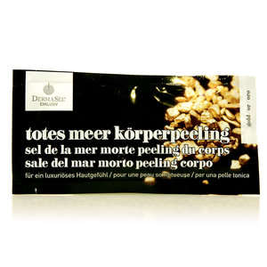 Derma Sel - Sale del Mar Morto - Peeling Corpo - Oro