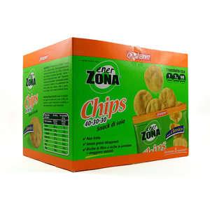 Enerzona - Chips di Soia - Confezione da 5 pacchetti