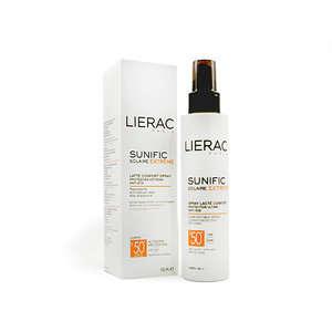 Lierac - Latte Confort Spray a protezione solare estrema con effetto antietà - Sunific Solaire Extreme - Spray 50+