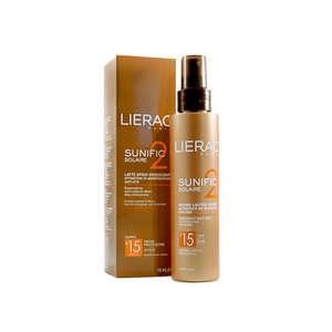 Lierac - Sunific Solaire - Latte Spray Iridescente SPF 15