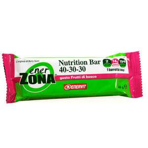 Enerzona - Nutrition Bar - Frutti di Bosco - 2 blocchi
