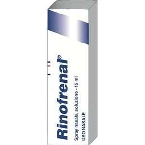 Rinofrenal - RINOFRENAL*RINOL SOLUZ FL 15ML