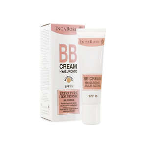Incarose - Crema viso idratante - BB Cream Hyaluronic - Medium
