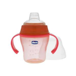 Chicco - Tazza Soft - 6  mesi - Rossa