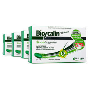 Bioscalin - R-Plus 2 - Anticaduta con Sincrobiogenina - Offerta 3+1
