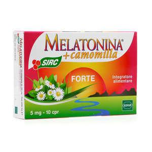 Sirc - Melatonina Forte + Camomilla - Integratore