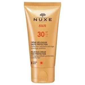 Nuxe - Sun - Crema Deliziosa Alta protezione SPF30