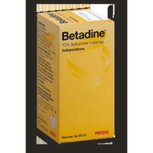 Betadine - BETADINE*SOLUZ CUT FL 50ML 10%