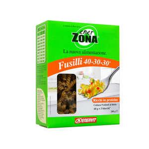 Enerzona - Integratore alimentare per la dieta - Fusilli di grano duro