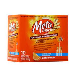 Metamucil - Fibra Multi-Benessere - 10 Bustine