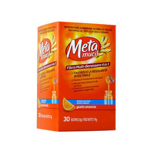 Metamucil - Integratore Alimentare 30 Bustine - Fibra Multi-Benessere